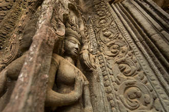 Apsary w Ta Prohm