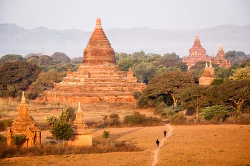 Stupy, Pagan, Birma