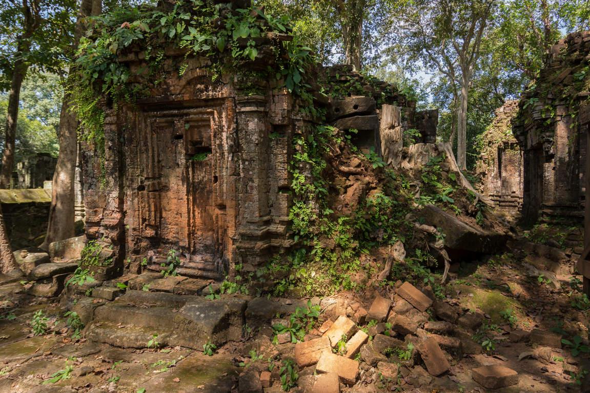 Ruiny świątyń w Koh Ker