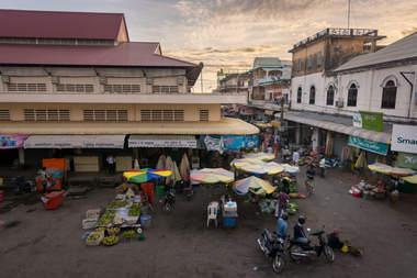 Kratie, Kambodża