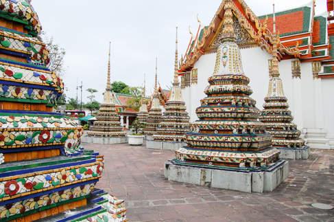 Świątynia, Bangkok, Tajlandia