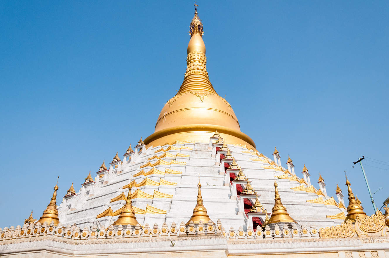 Mahazedi Pagoda, Bago, Birma