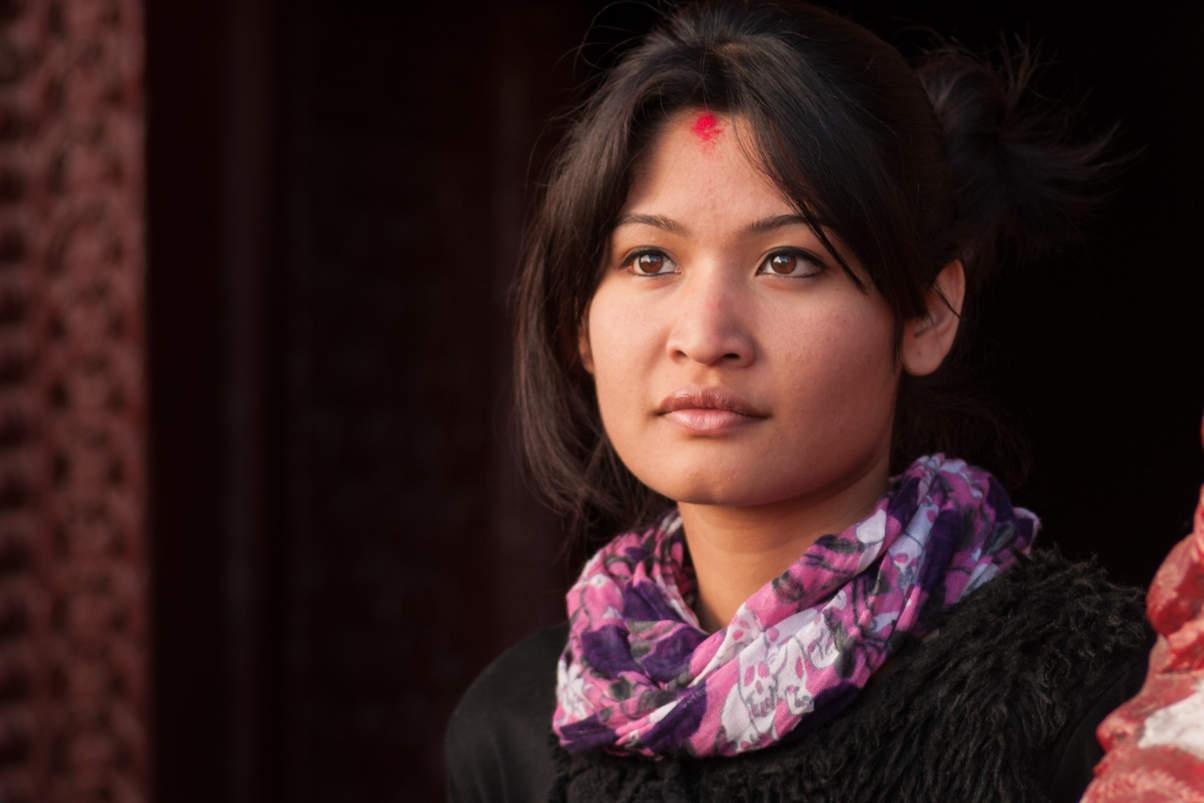 Nepalska Dziewczyna, Kathmandu