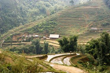 Wzgórza niedaleko Sapa