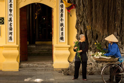 Spotkanie przy świątyni, Hanoi