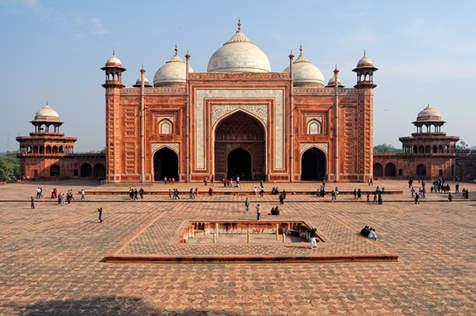 Meczet obok Taj Mahal