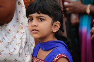 Hinduska dziewczynka, Georgetown
