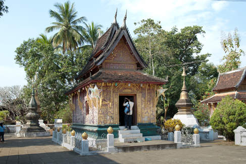 Buddyjska Kapliczka, Luang Prabang