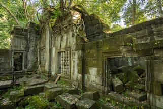 Zaginione miasto Beng Mealea