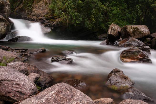Górski strumień, Rejon Annapurny