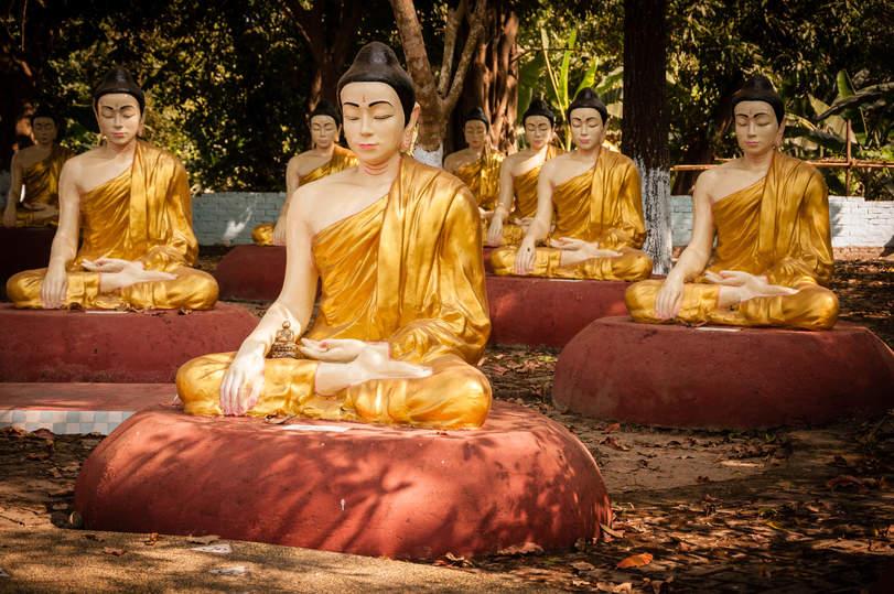 Ogród Buddy, Bago, Myanmar