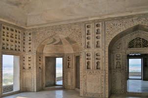 Pałac, Czerwony Fort, Agra