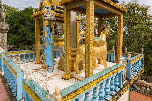 Kapliczka na wzgórzu Phnom Pros