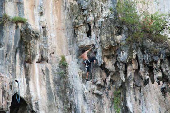 Wspinaczka na Railay, Krabi
