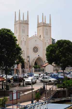 Kolonialna katedra, Melaka