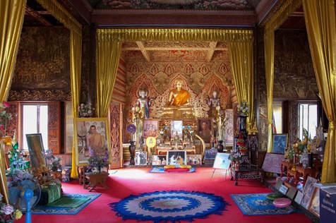 Świątynia w Chiang Mai