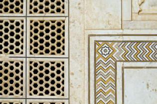 Zdobienia Taj Mahal
