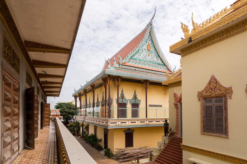 Klasztor w Phnom Penh