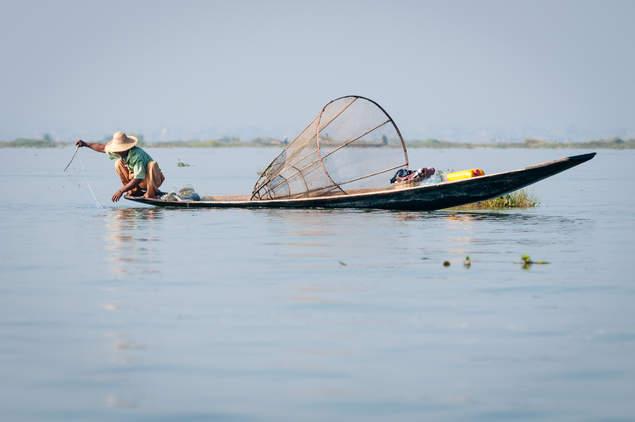 Rybak z Inle, Birma