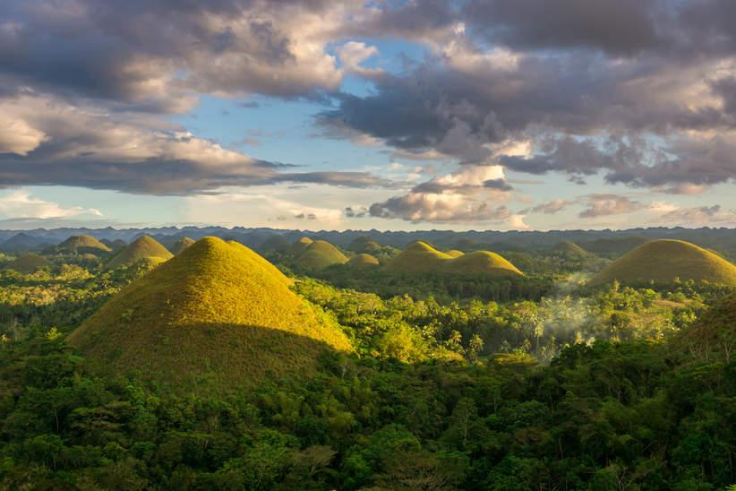 krajobraz Czekoladowe Wzgórza, Bohol