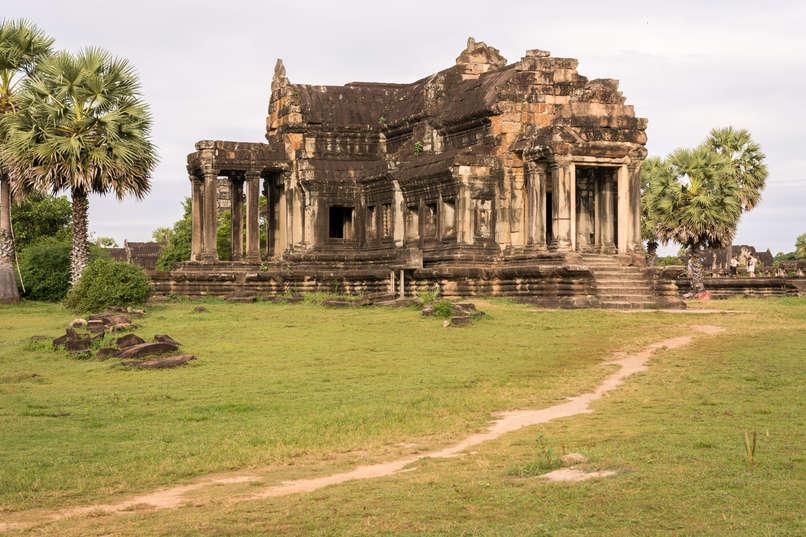 """""""Biblioteka"""" w świątyni Angkor Wat"""