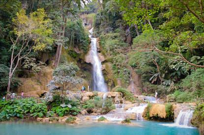 Wodospad Kuang Si, Luangprabang