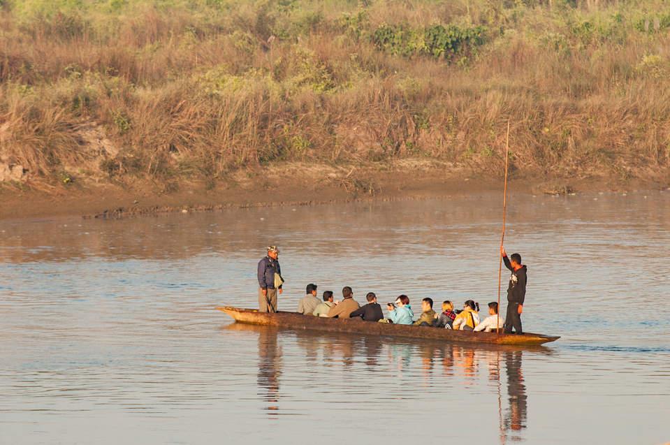Park Narodowy Chitwan, Nepal