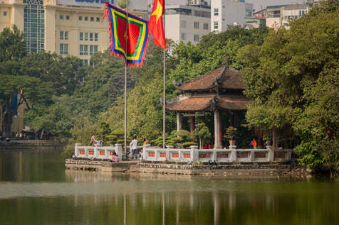 Świątynia Jadeitowej Góry, Hanoi, Wietnam
