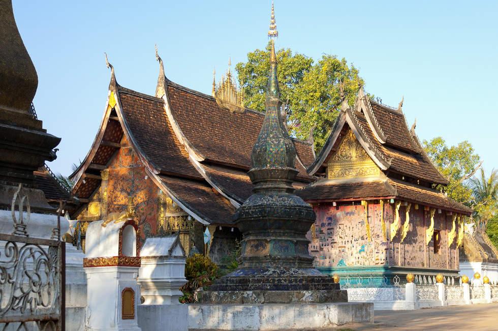 Laotańskie Świątynie, Luang Prabang