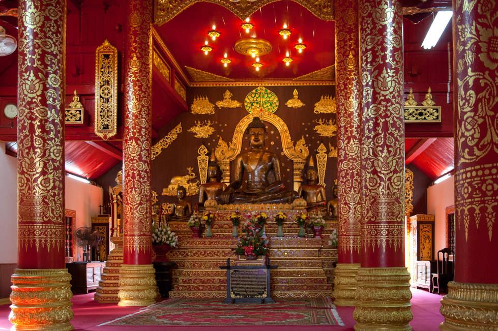 Świątynia Wat Phra Kaew, Chiang Rai