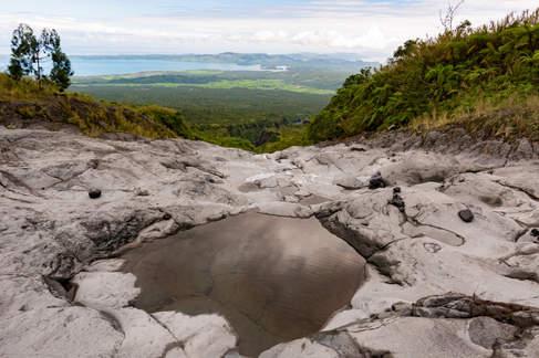 Widok z wulkanu Mayon