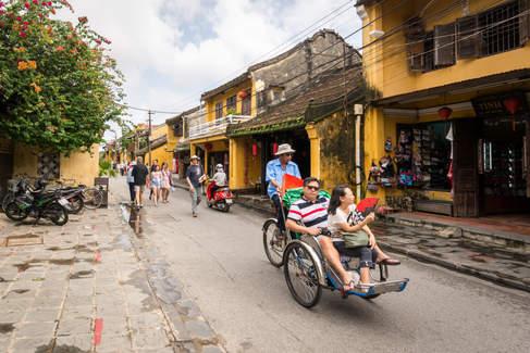 Riksza w Hoi An