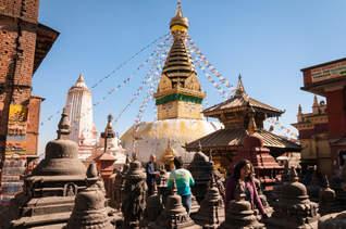 Świątynia Małp, Swayambhunath