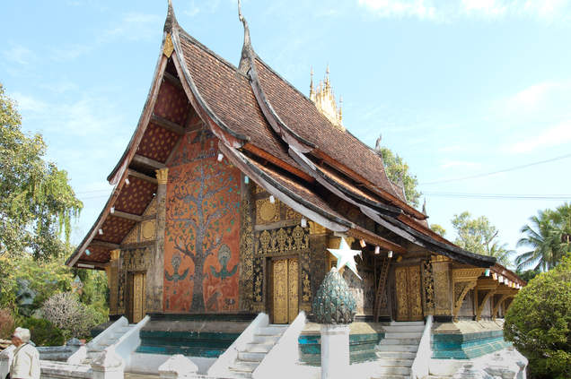 Wat Xieng Thong w Luangprabang