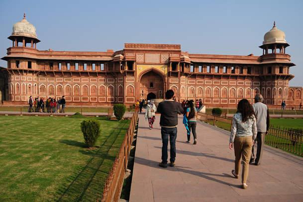 Czerwony Fort Agra
