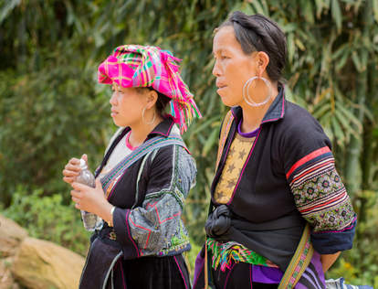 Kobiety Hmong, Wietnam