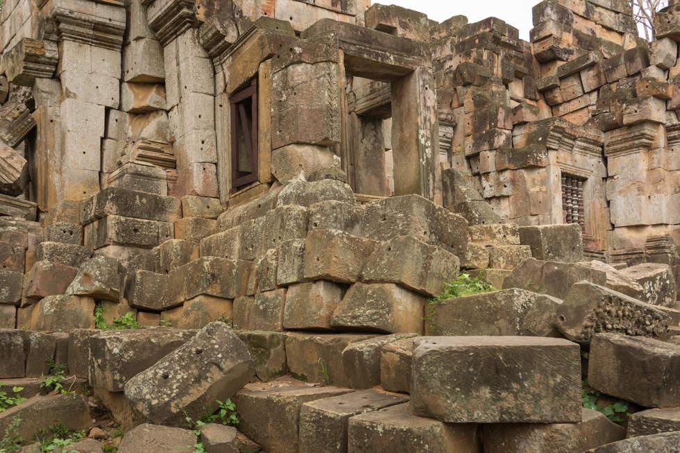 Ruiny Wat Ek Phnom, Battambang