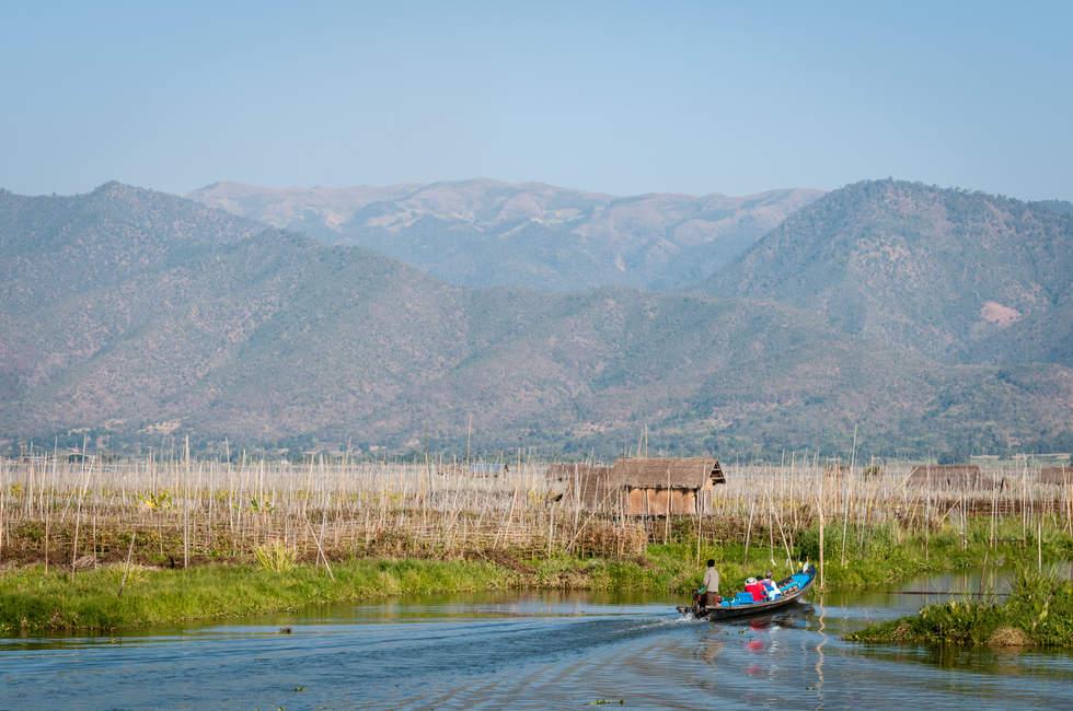 Jezioro Inle i Góry stanu Shan, Birma