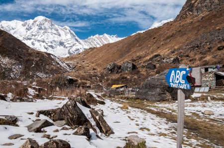 Droga do Annapurna Base Camp