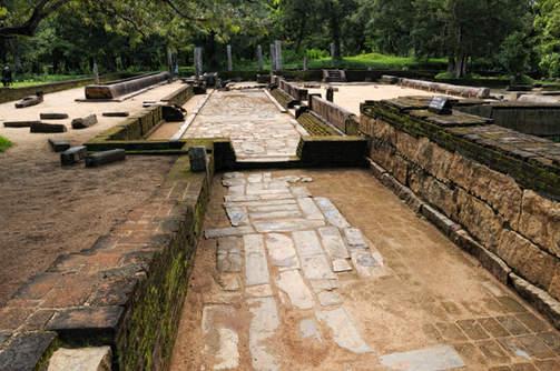 Ruiny klasztoru, Anuradhapura