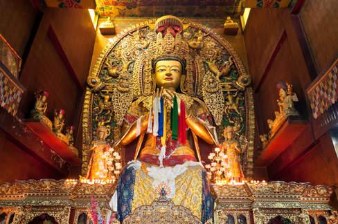 Posąg Buddy, Kathmandu