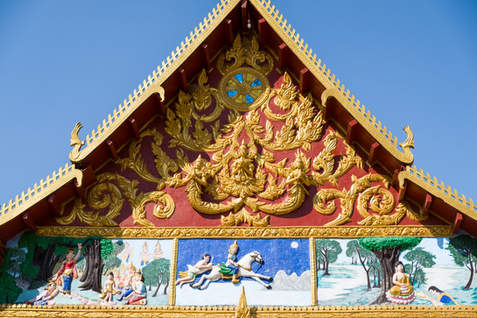 Świątynia Wat Luang, Pakse