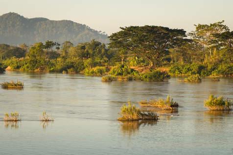 Mekong, Don Det, Laos