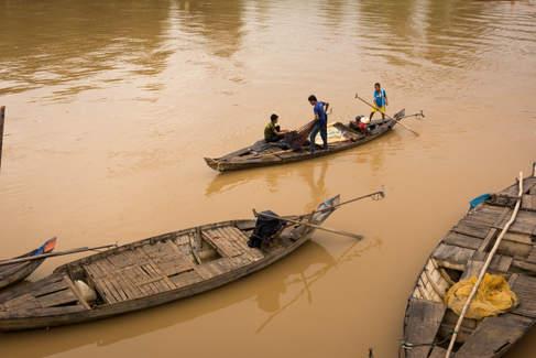 Rybacy, Battambang