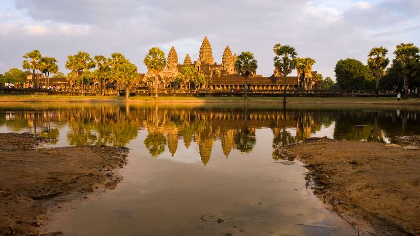 Świątynia Angkor Wat, Kambodża. Fotografia Maciej Rutkowski