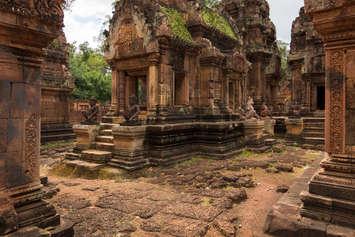 Świątynia Banteay Srei w Kambodży