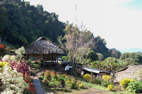 Wioska niedaleko Chiang Mai