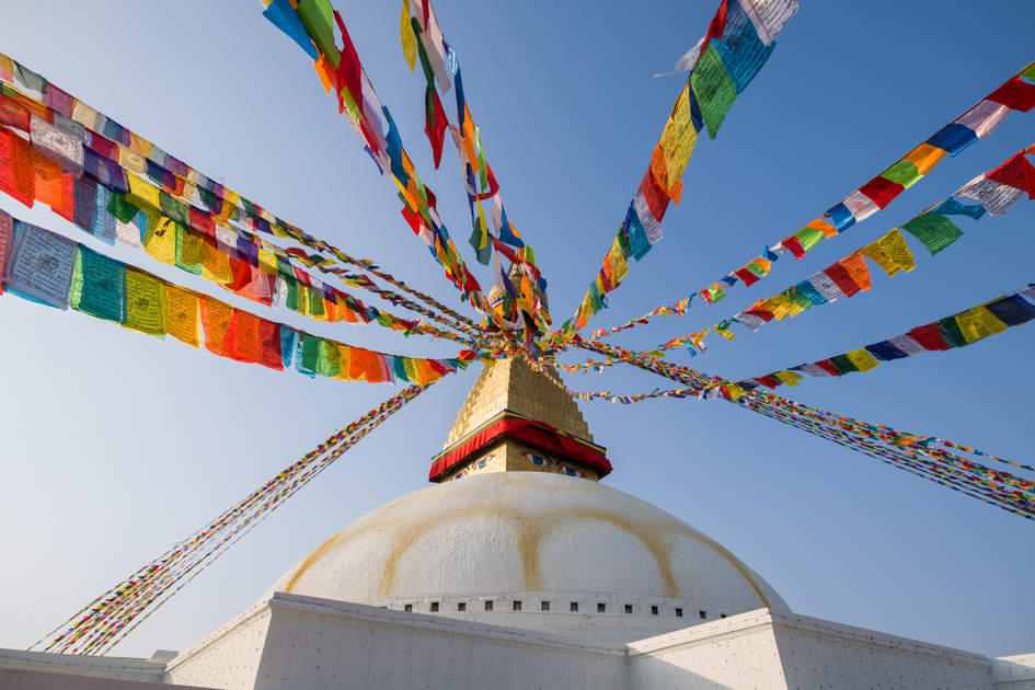 Stupa Boudhanath, Kathmandu