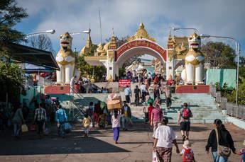 Świątynia Kyaiktiyo, Birma