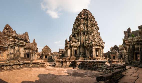 Świątynia Banteay Samre, Angkor, Kambodża. Fotografia Maciej Rutkowski